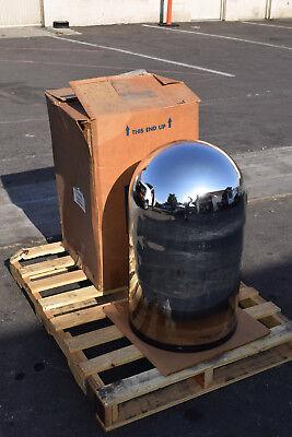 High Vacuum Coating Bell Jar Corning Pyrex Glass Heavy Wall 18 X 30