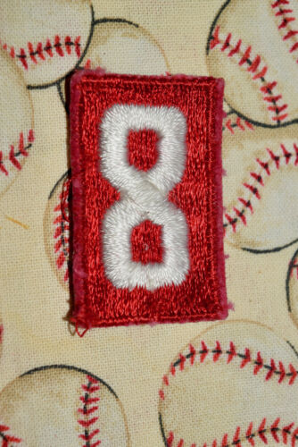 BSA #8 Uniform Troop Number Patch Cub Boy Scouts of America Uniform Shirt