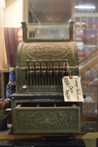 Ornate Antique National Cash Register
