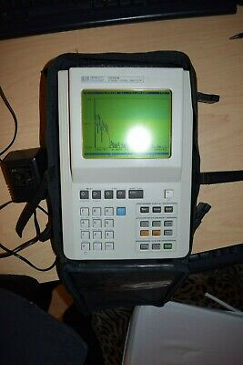 Hp 3560a Handheld Fft Vibration Acoustic Spectrum Dynamic Analyzer Dc - 40khz