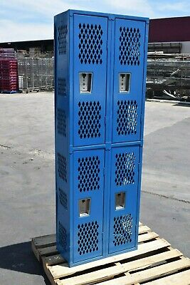 Republics Republic Compartment-school-gym-lockers-locker-boys Cubby Metal Blue
