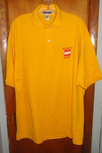 American Electric Power Collared Shirt - Security Staff Size XL - NOS