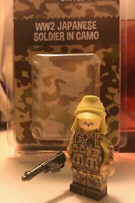 LEGO Brickmania UnitedBricks Japanese paratrooper with Japanese hat
