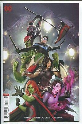TITANS #23 - STJEPAN SEJIC VIRGIN ART VARIANT COVER - DC COMICS/2018