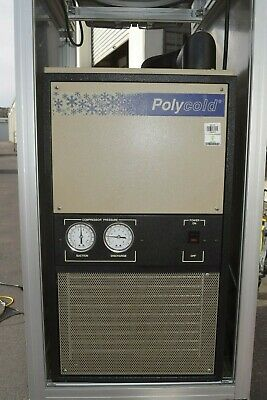 Polycold Pgc-100 208-230v 1-phase Cryogenic Gas Chiller Refrigeration System