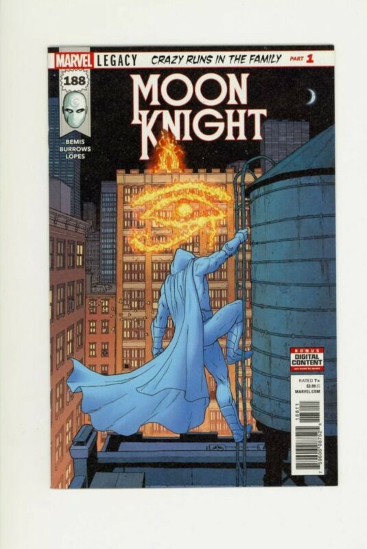 Moon Knight #188 1st Print 1st Appearance of Sun King Marvel Comics Gemini 🔥
