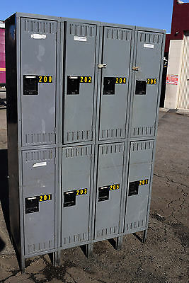 Tennsco Storage 8 Compartment-school-gym-lockers-locker-boys Room Cubby Metal