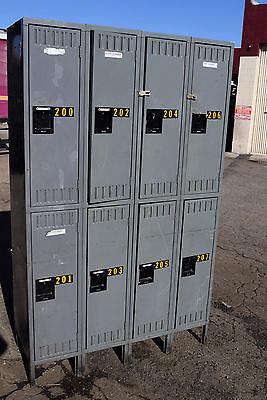 Tennsco Storage 8 Compartment-school-gym-lockers-locker-boys Room Cubby Metal