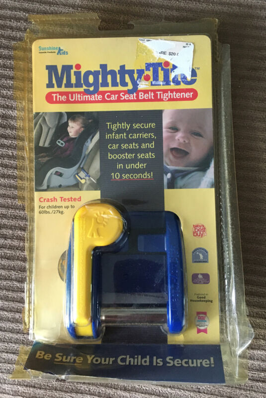 Mighty-Tite Car Seat Belt Tightener Crash Tested Safety Up to 60 lbs