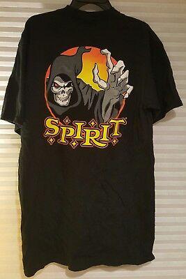 Spirit Halloween T shirt black 100% cotton