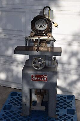 2502 Oliver 2 Spindle Dual Horizontal Boring Machine 1hp 115v 1ph 60hz Borer