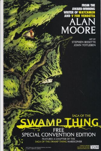 SAGA OF THE SWAMP THING FREE SPECIAL CONVENTION EDITION NM ALAN MOORE DC COMICS