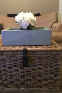 Basket/coffee table from ikea