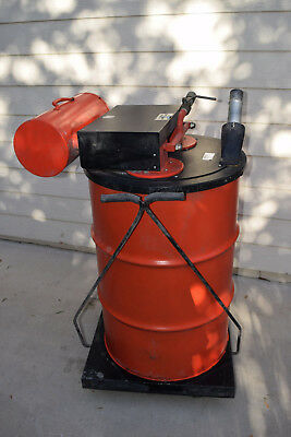 Minuteman Pneumatic Flammable Liquid Recovery Drum Vacuum - 55 Gallon Jet Fuel