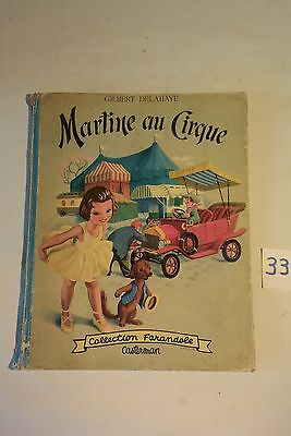 C33 Ancienne BD Martine au cirque 1956 Casterman