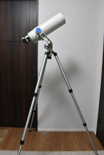 """Takahashi Teegul-100 D = 100mm f = 770mm Altazimuth mount tripod 0.956""""/ 24.5mm"""