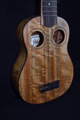 Ukuleles Alulu Solid Acacia Koa Baritone Guitarlele Butterfly Inlay Hard Case Hu1471-1524 Cheap Sales 50%