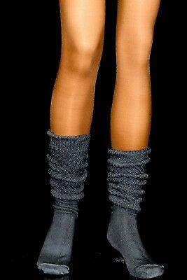 Charcoal Warm Slouch Socks Hooters school uniform Workout soccer - Halloween Soccer Socks