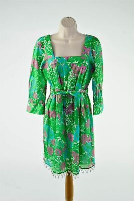 Milly Multicoloured Floral Dress, Size S