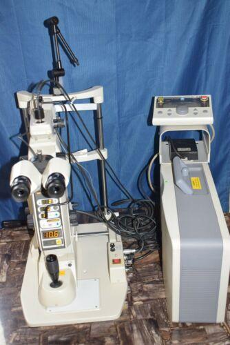 Nidek YAG YC-1600 - GYC-2000 Combo (YAG-Green laser) Argon