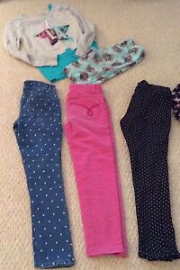 Lot Of 7 Girls Pants Dress Top Size 8 (7-8 Year Old) Cambridge Kitchener Area image 2