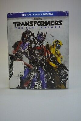 Transformers The Last Knight (Blu-ray, DVD, Digital) New Read Disc