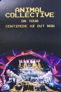 ANIMAL COLLECTIVE, CENTIPEDE HZ POSTER (T9)