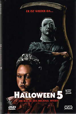 Halloween 5 , strong limited (99 worldwide) big Hardbox , uncut , new , Cover B