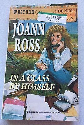 Joann Ross   In A Class By Himself 1995 Paperback Novel