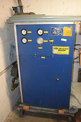 Zurn Air Gas Dryer Model R45w 460 Volts 3 Ph Compressed Compressor