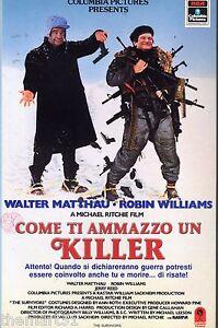 Come-ti-ammazzo-un-Killer-1982-VHS-Columbia-Walter-MATTHAU-Robin-Williams