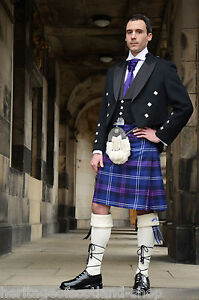 Scottish-Luxury-12-Piece-Prince-Charlie-Kilt-Outfit-Great-Quality-And-Feel