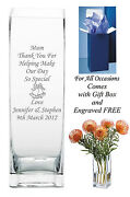 Personalised Engraved Vase