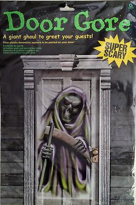 Grim Reaper Halloween Door Gore - 65