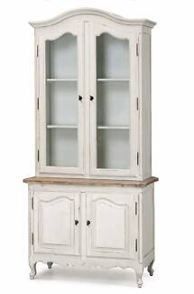 French Provincial Vintage Furniture Classic Display Cupboard Cabi