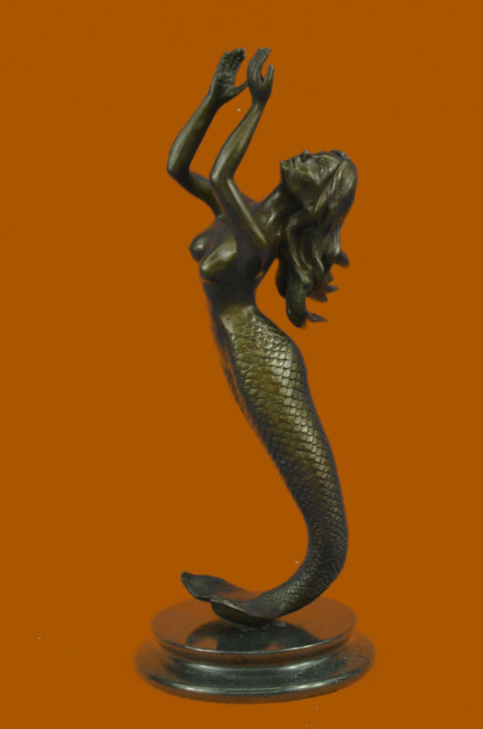 Hand Made Rock Collectible Gift Decor Bronze Sculpture Statue Handmade Figurine