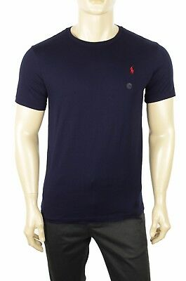 - NEW MENS POLO RALPH LAUREN CUSTOM FIT CREW NECK PONY COTTON JERSEY T SHIRT TEE L