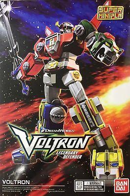 VOLTRON Golion Lionbot Snap Kit SUPER MINIPLA Legendary Defender Roboter BANDAI