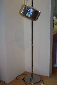 Unique Retro Chrome Floor Lamp (Full Working Order) Woollahra Eastern Suburbs Preview