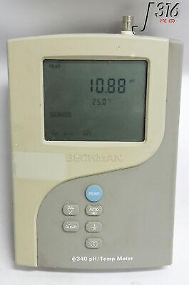 17244 Beckman 340ph Temperature Meter Mv Meter 511210