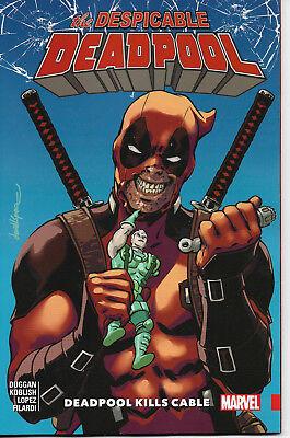 Marvel - The Despicable DeadPool Vol 1 - Deadpool Kills Cable - TPB -NEW