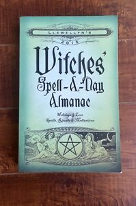 Witches Spell-a-Day Almanac 2015 Paperback Book. $4.00