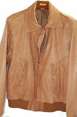 J. LINDEBERG Runway Leather Jacket  MSRP $1295