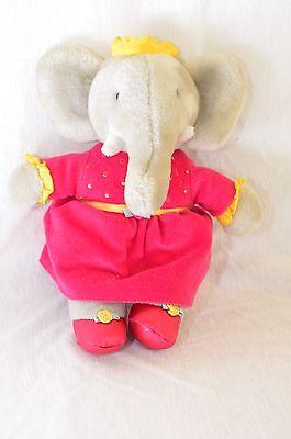 Разное Babar Queen Celeste Plush Elephant