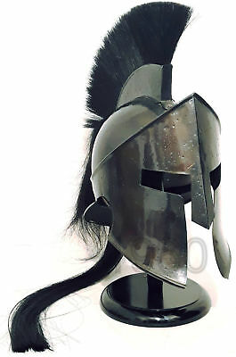 Halloween Gift 300 King Leonidas Spartan Helmet Warrior Costume Medieval Helmet