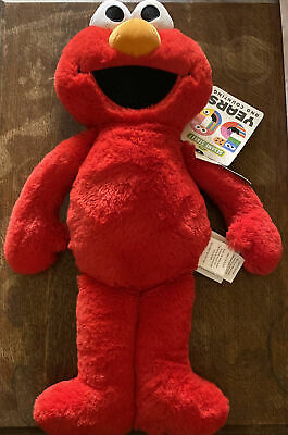 "NEW Elmo Plush Pillow 20"" 50 Years & Counting Sesame Street Kids Toy Soft"