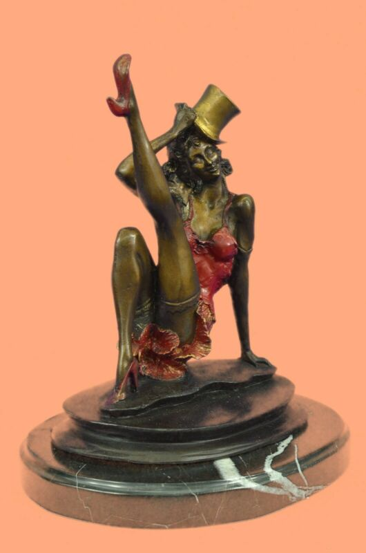 Signed and Numbered Limited Edition Broadway Dancer by Collett Bronze Statue Art