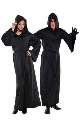 Amscan Adult standard one size Black Horror Robe Halloween costume