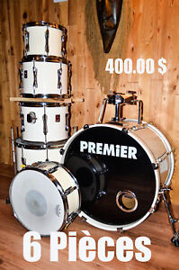 Drum / PREMIER 6 pièces / made in England