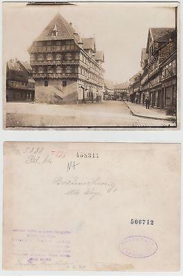 Braunschweig,Alte Waage Gross Foto Original (13,0 x 18,0 cm) um 1920